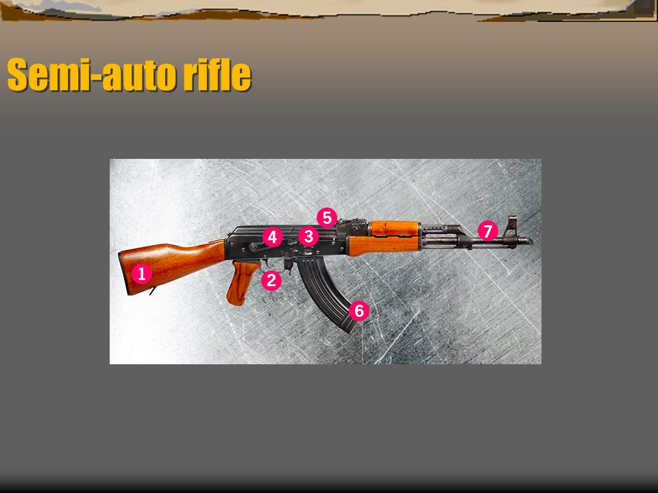 Semi-auto rifle