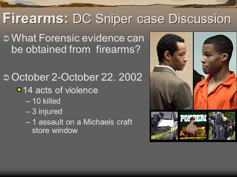 Firearms: DC Sniper case Discussion