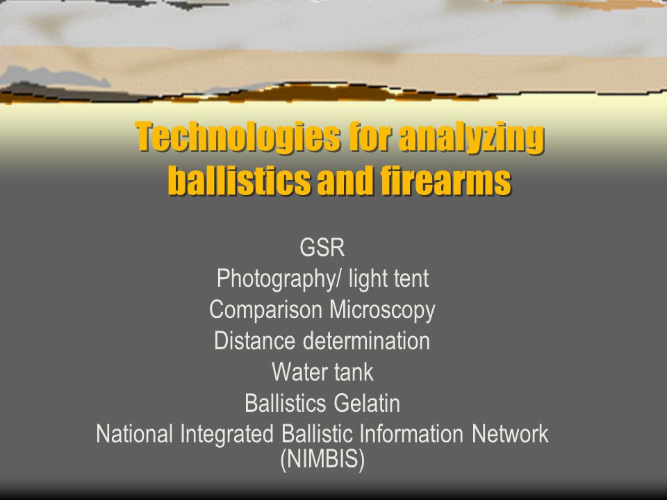 Technologies for analyzing ballistics and firearms