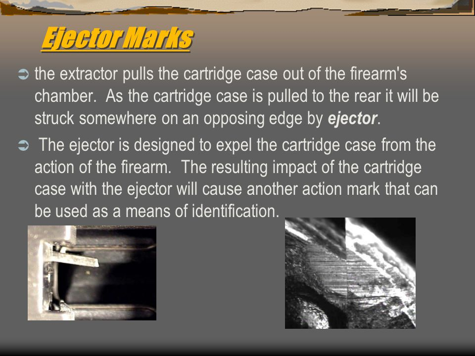 Ejector Marks