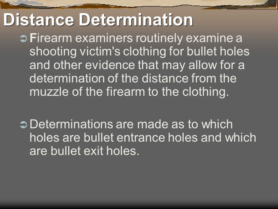 Distance Determination