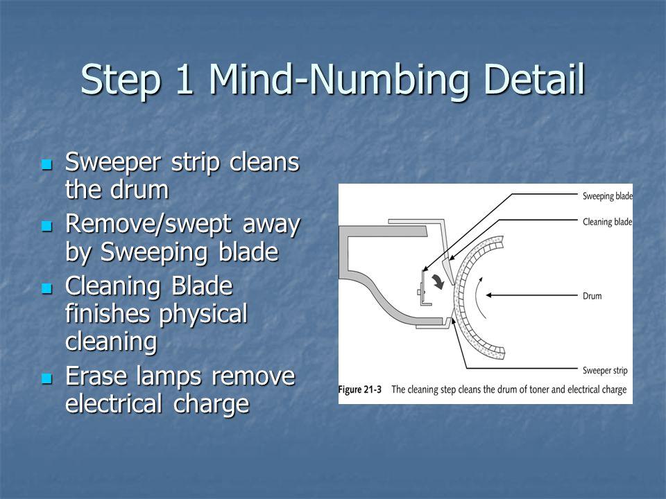 Step 1 Mind-Numbing Detail