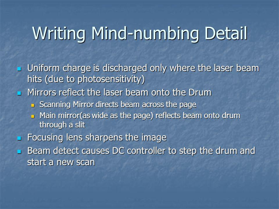 Writing Mind-numbing Detail