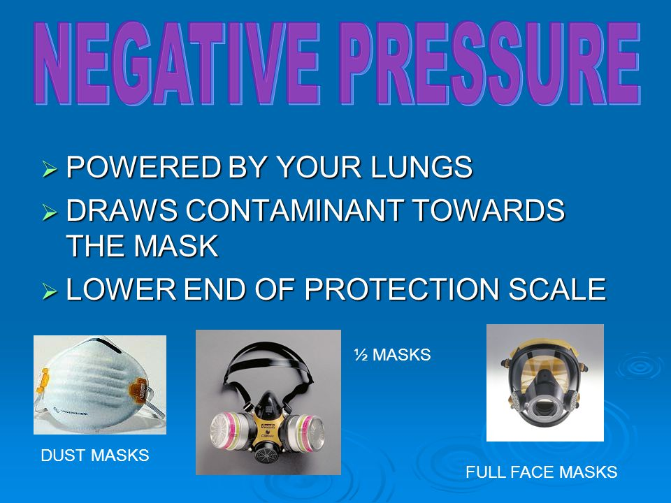 NEGATIVE PRESSURE POWERED BY YOUR LUNGS