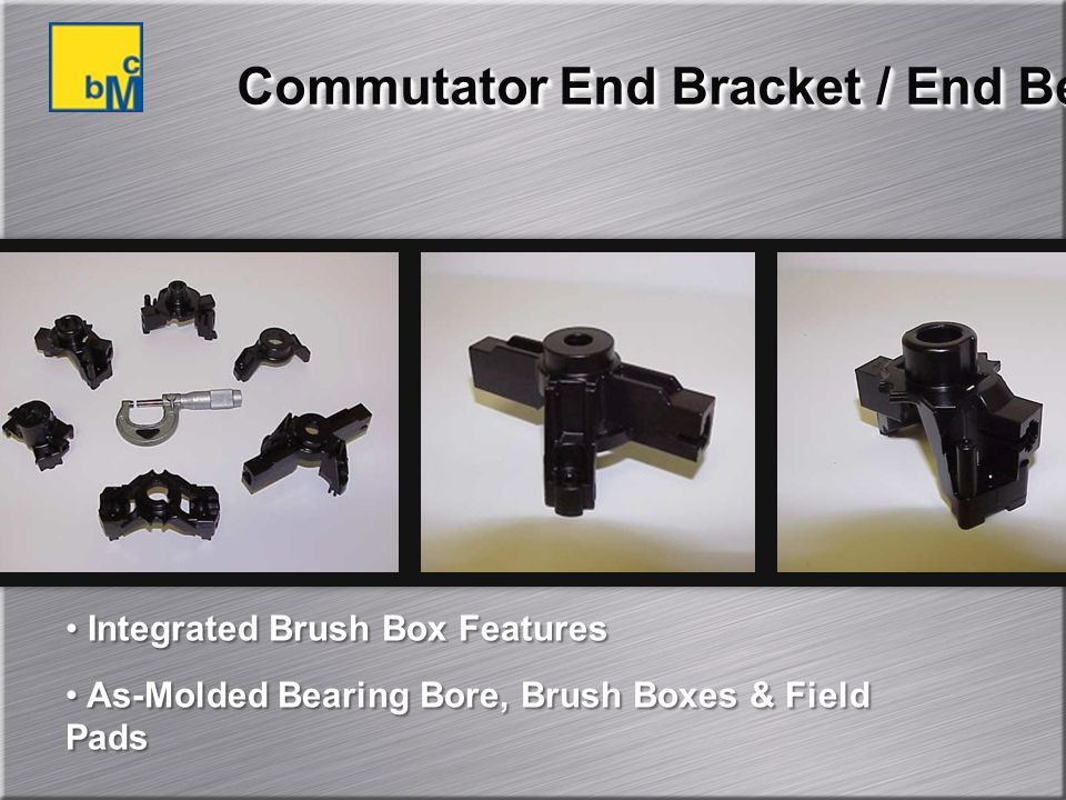Commutator End Bracket / End Bell