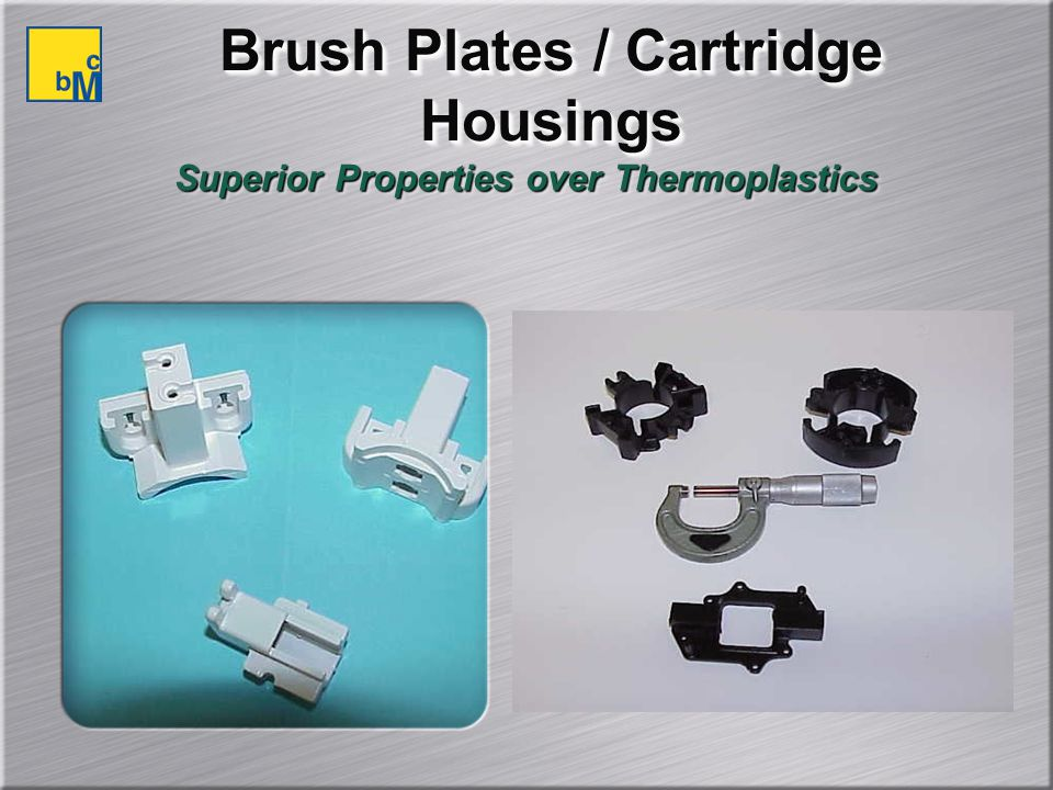 Brush Plates / Cartridge Housings