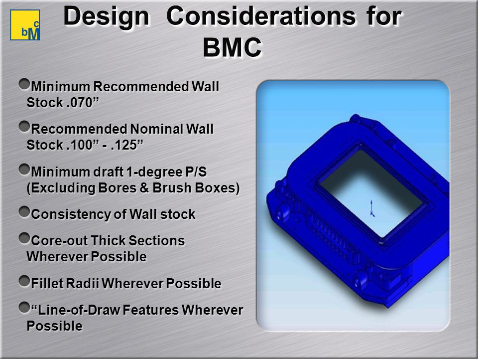 Design Considerations for BMC