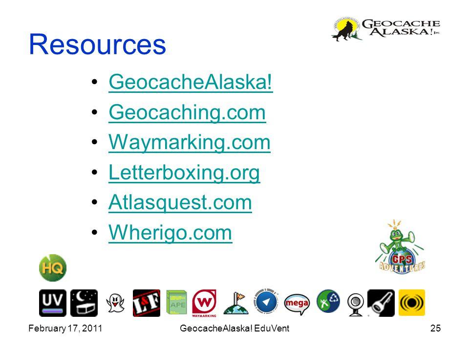 GeocacheAlaska! EduVent