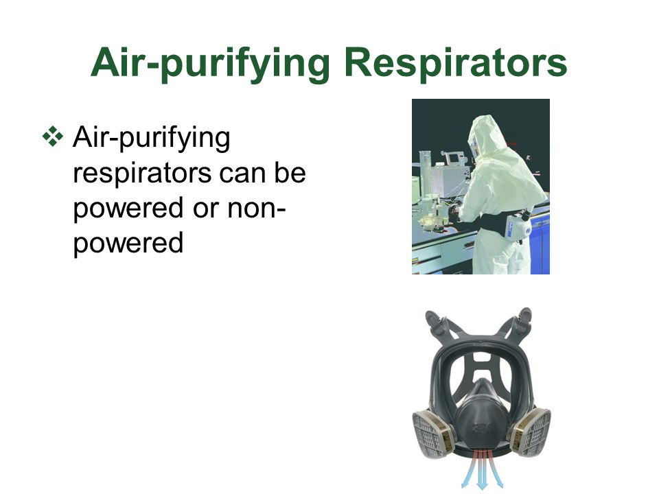 Air-purifying Respirators