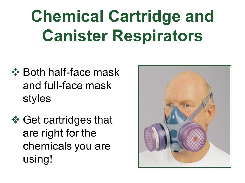Chemical Cartridge and Canister Respirators