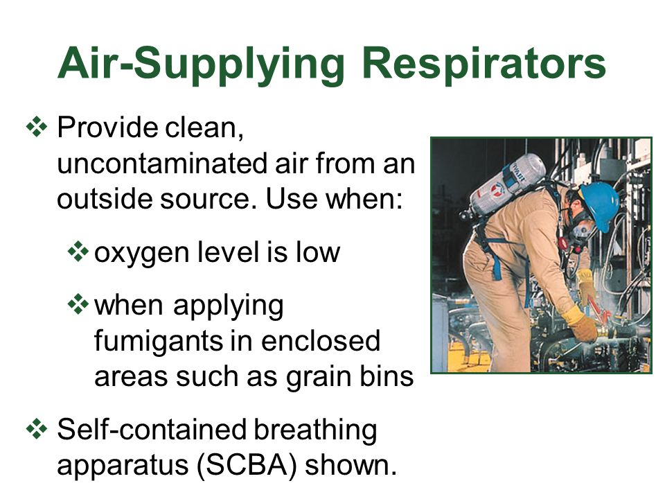 Air-Supplying Respirators