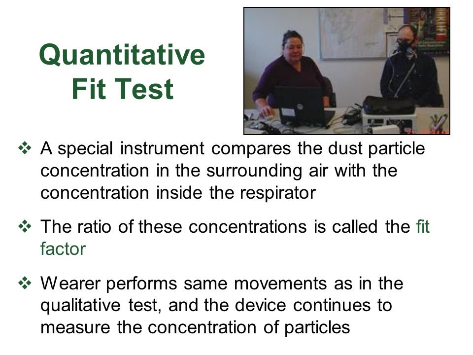 Quantitative Fit Test
