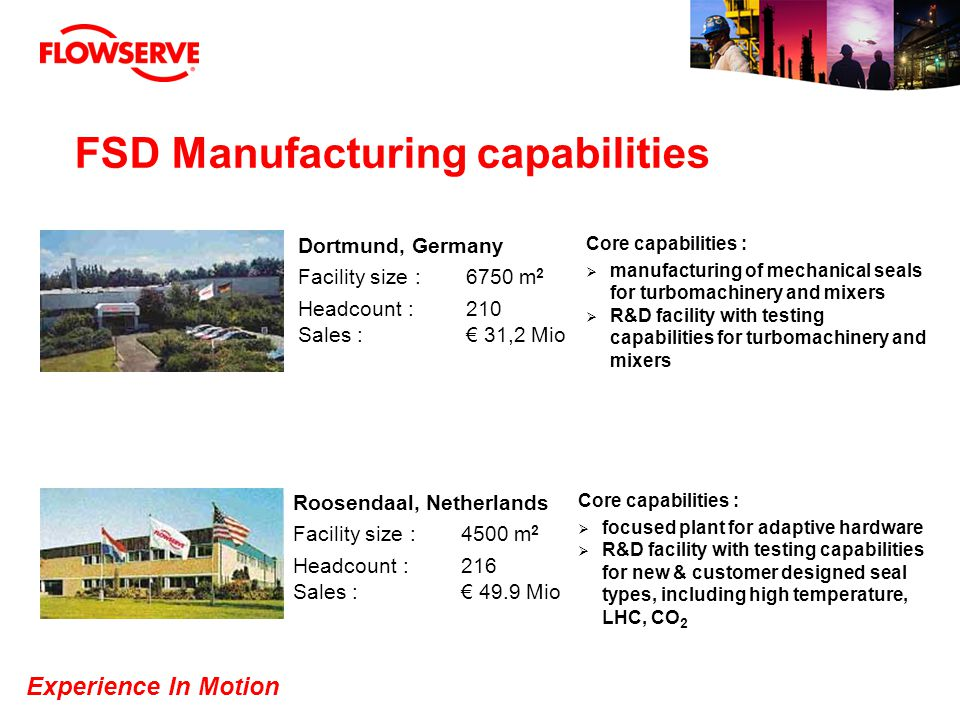 FSD Manufacturing capabilities