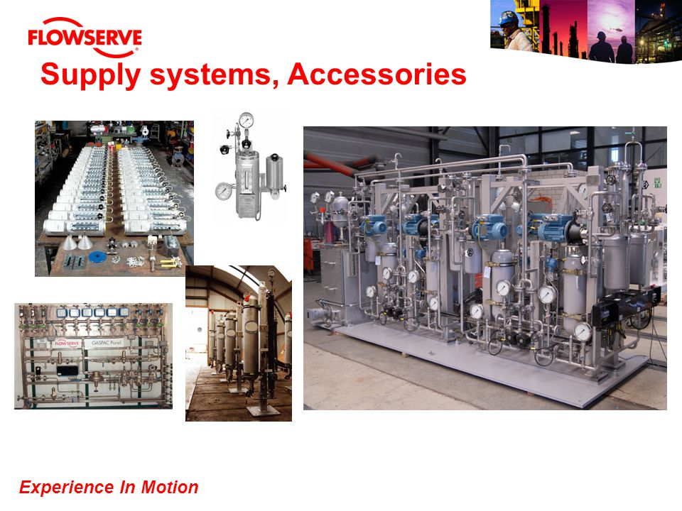 Supply systems, Accessories