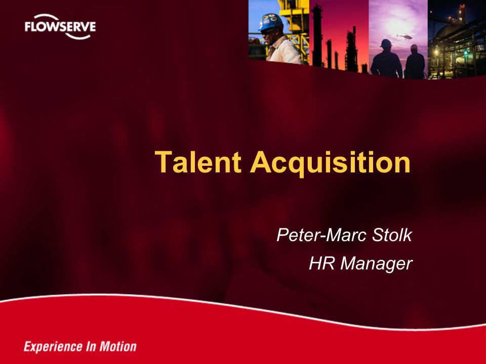 Peter-Marc Stolk HR Manager