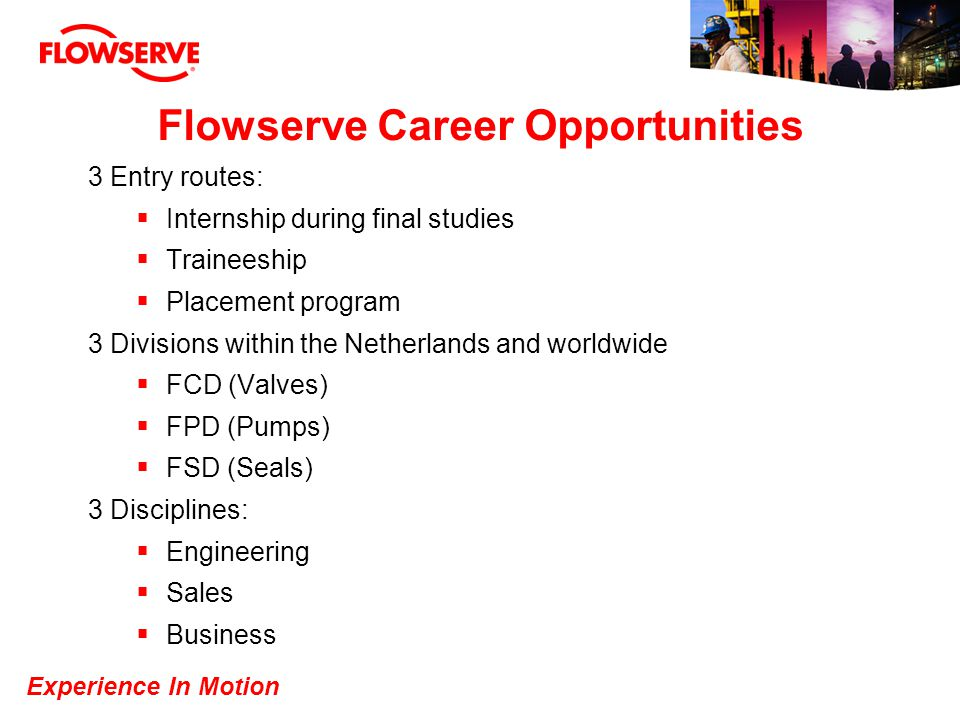 Flowserve Career Opportunities