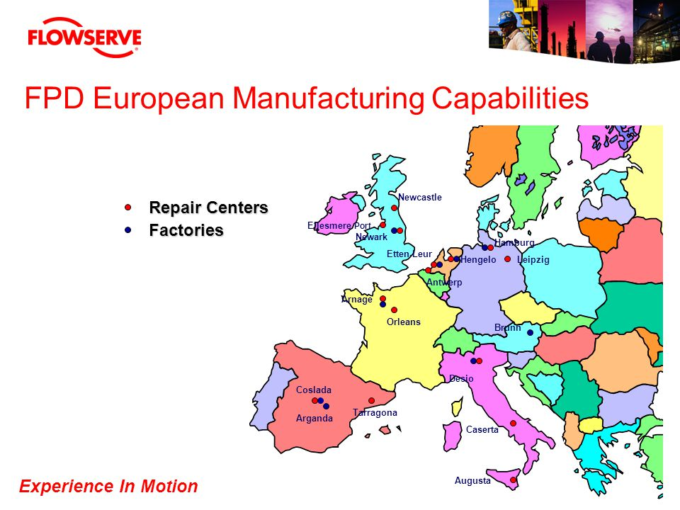 FPD European Manufacturing Capabilities