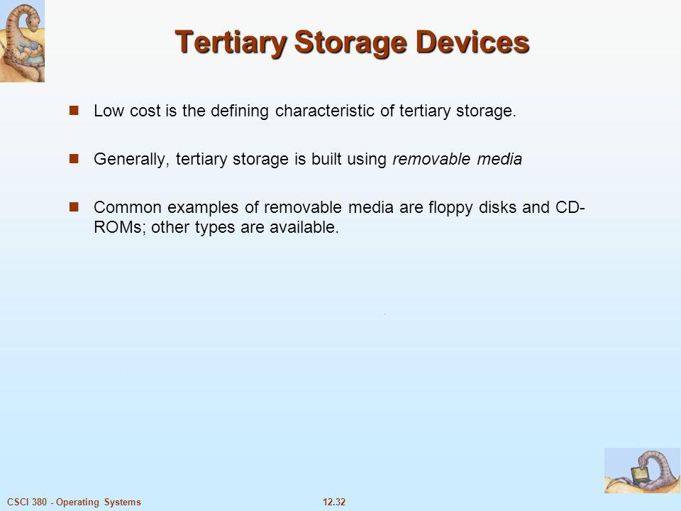Tertiary Storage Devices