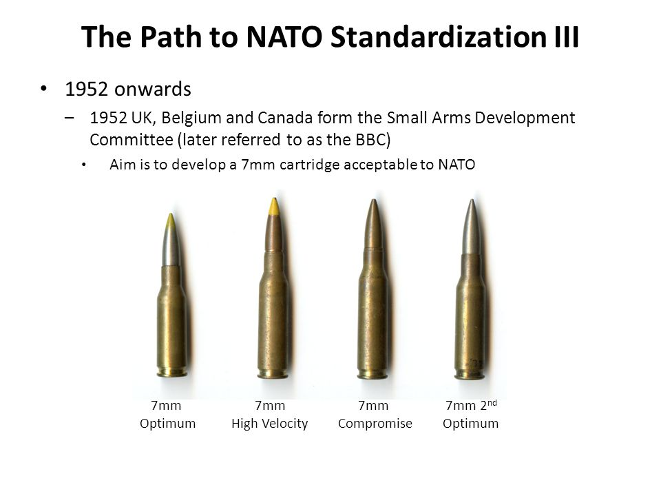 The Path to NATO Standardization III