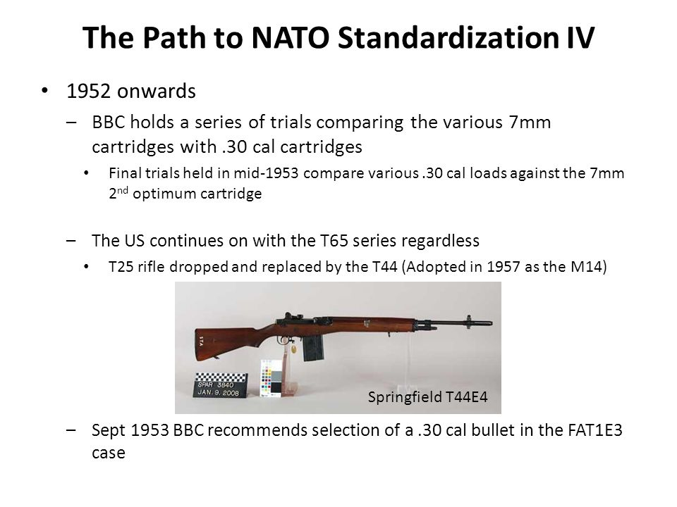 The Path to NATO Standardization IV