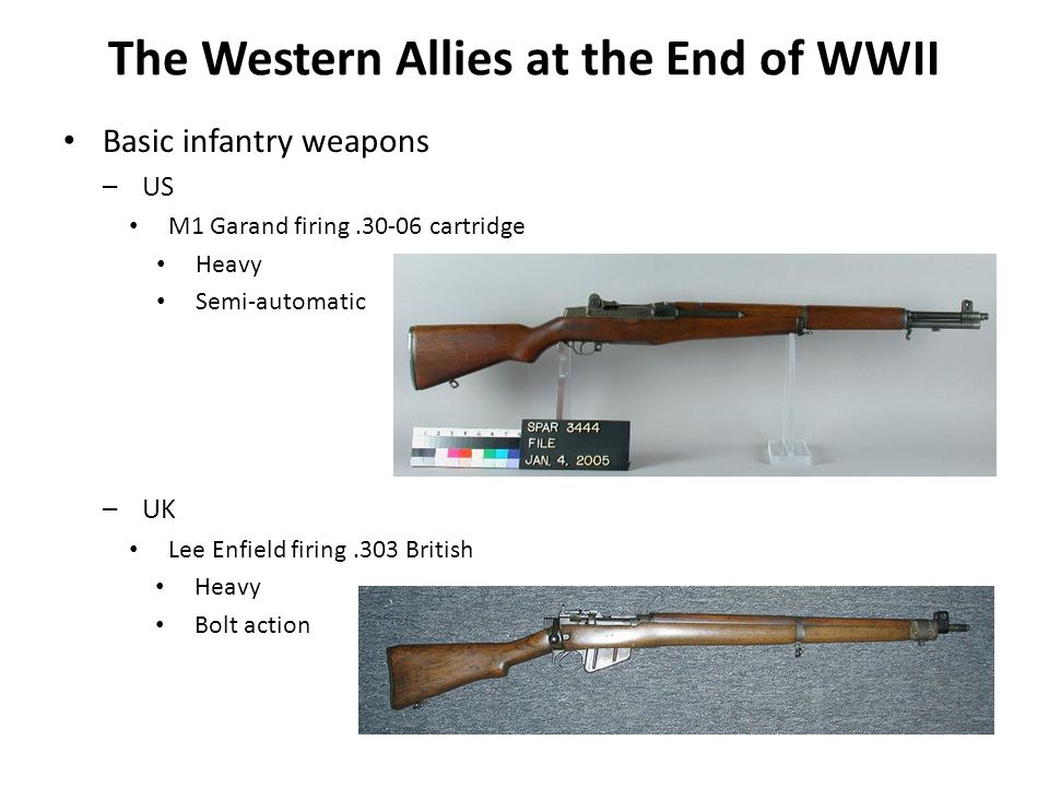 The Western Allies at the End of WWII