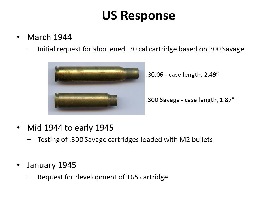 US Response March 1944 Mid 1944 to early 1945 January 1945