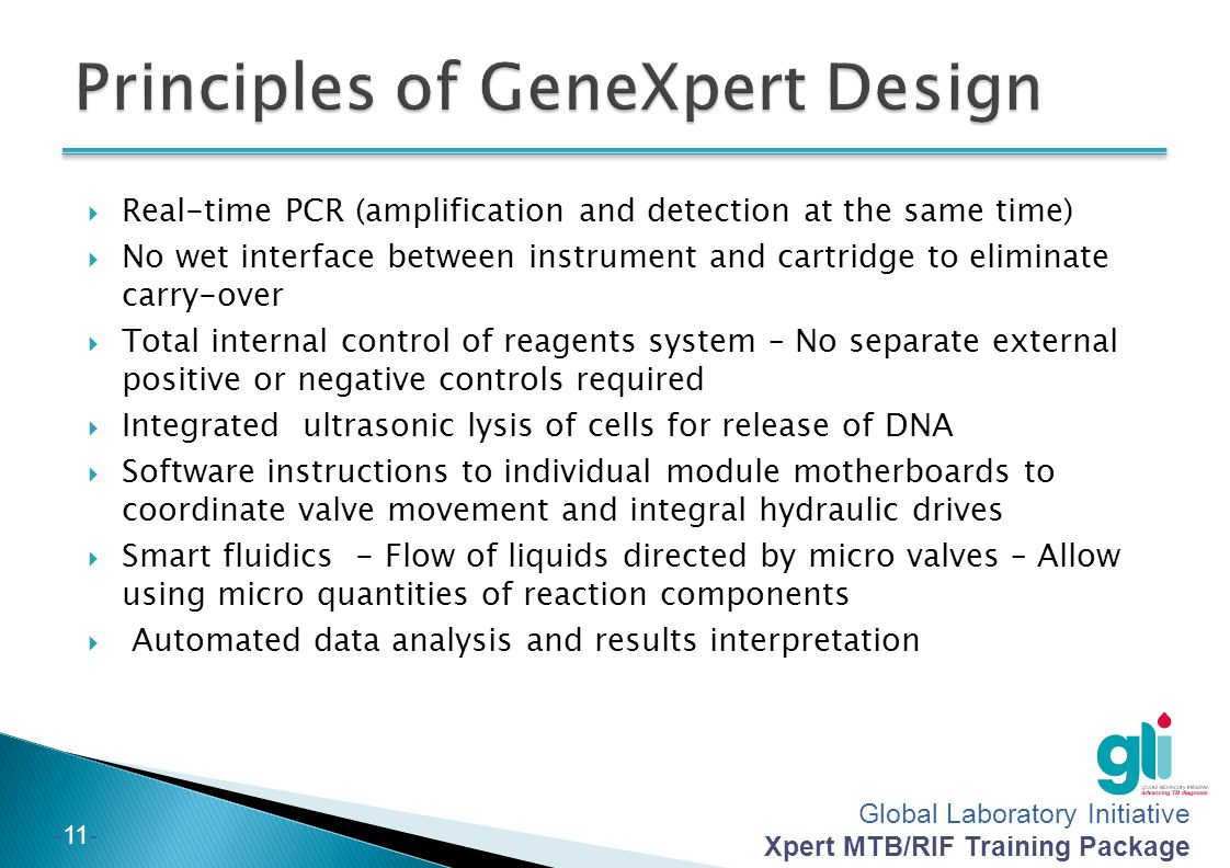 Principles of GeneXpert Design