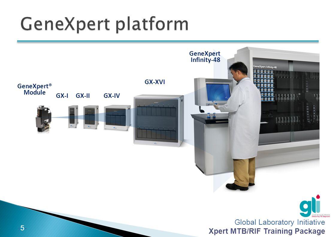 GeneXpert platform GeneXpert Infinity-48 GX-XVI GeneXpert® Module GX-I