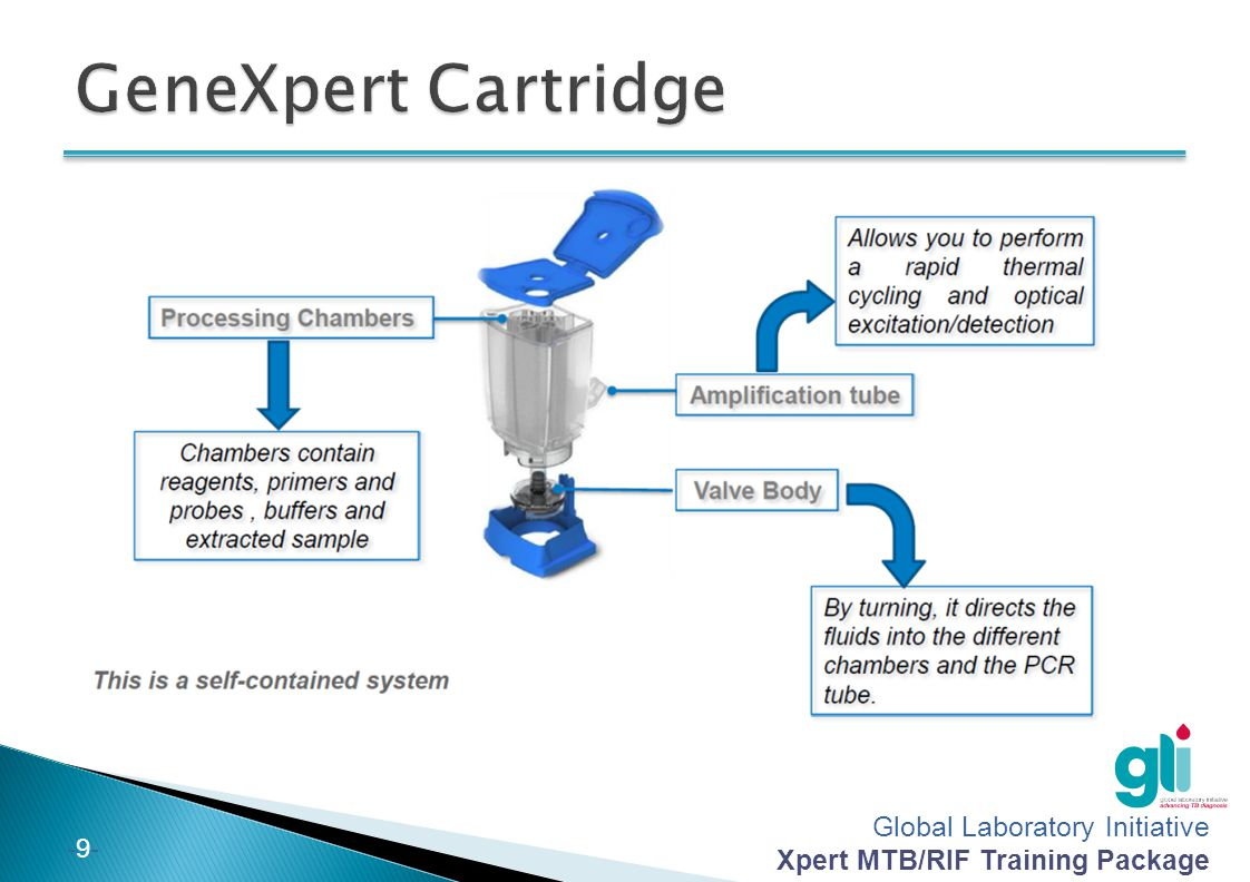 GeneXpert Cartridge 9