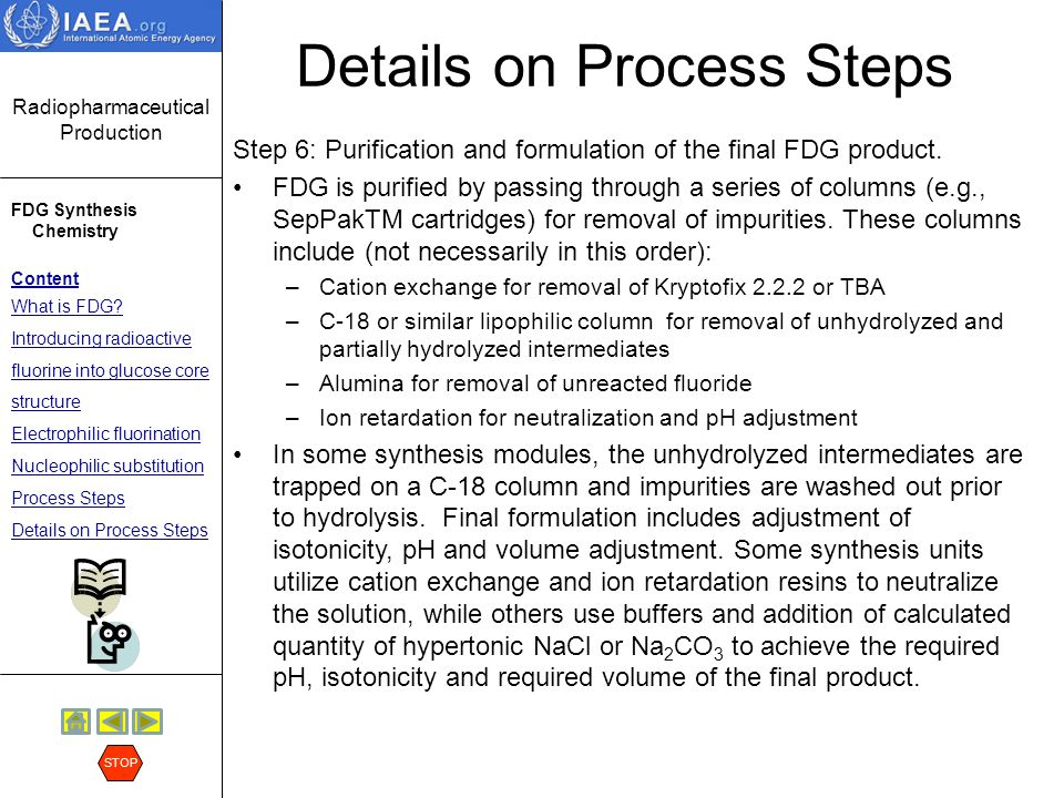 Details on Process Steps