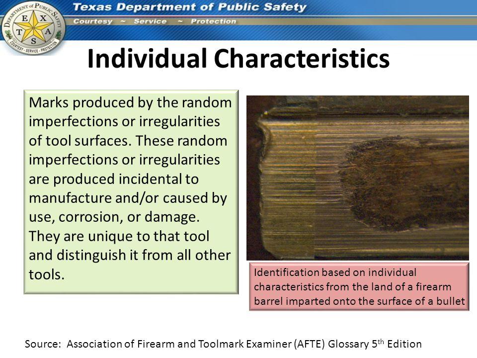 Individual Characteristics