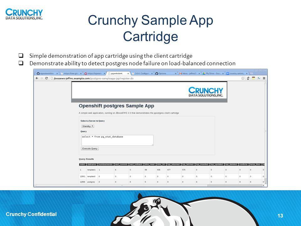 Crunchy Sample App Cartridge