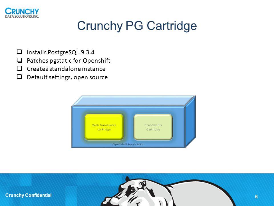 Crunchy PG Cartridge Installs PostgreSQL 9.3.4