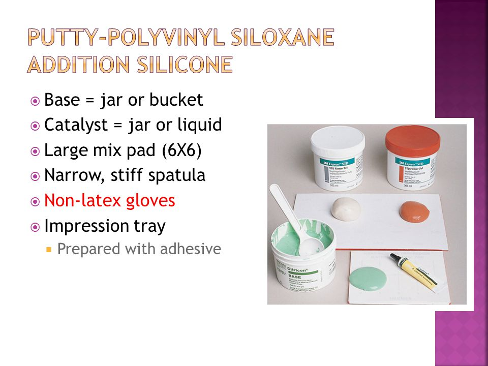 Putty-Polyvinyl Siloxane Addition Silicone