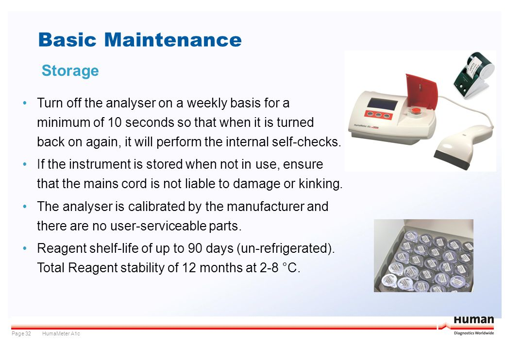 Basic Maintenance Storage