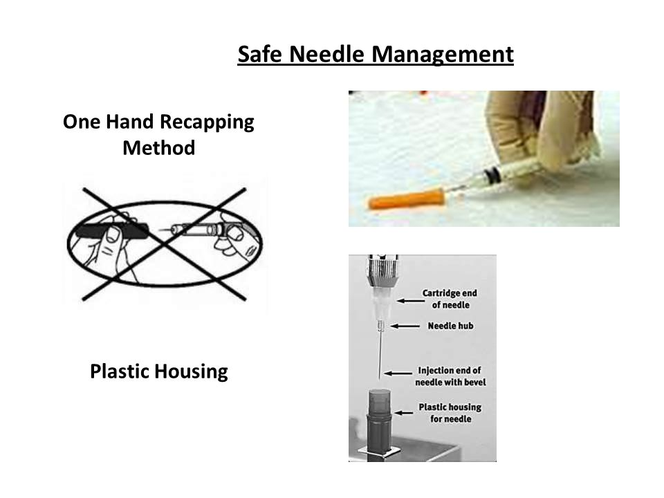 Safe Needle Management
