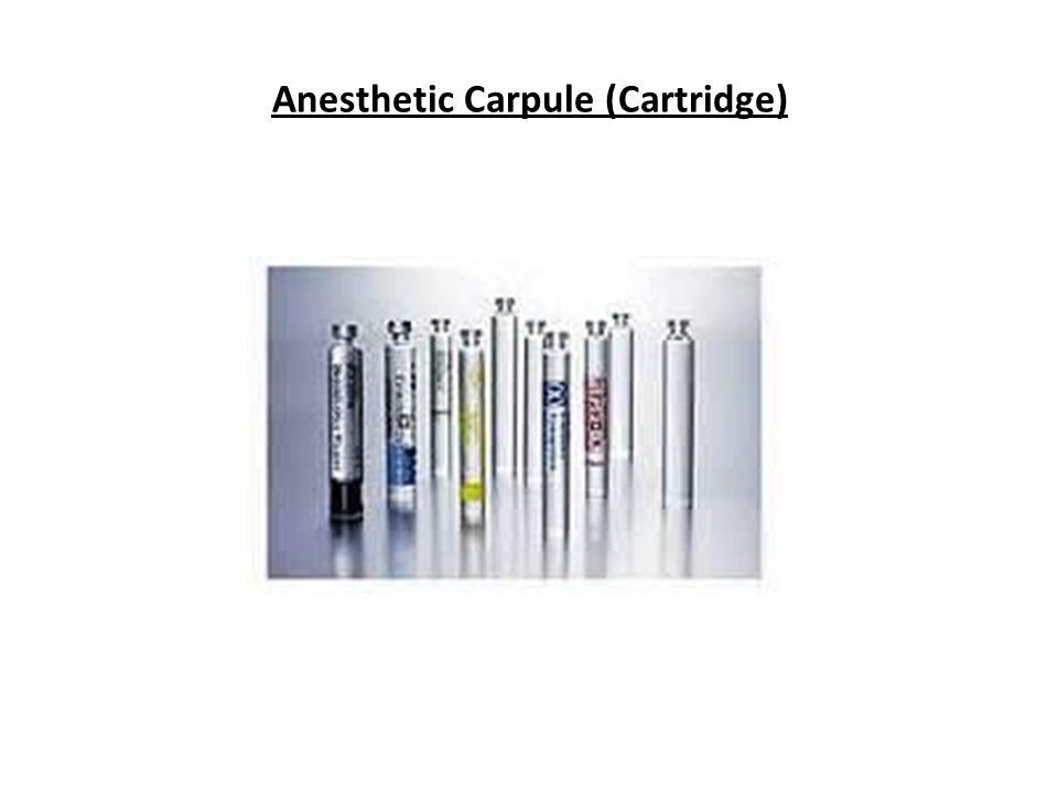 Anesthetic Carpule (Cartridge)