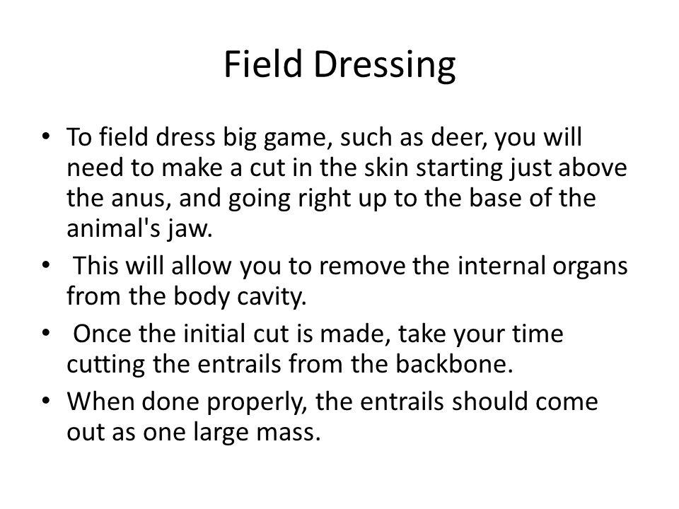 Field Dressing
