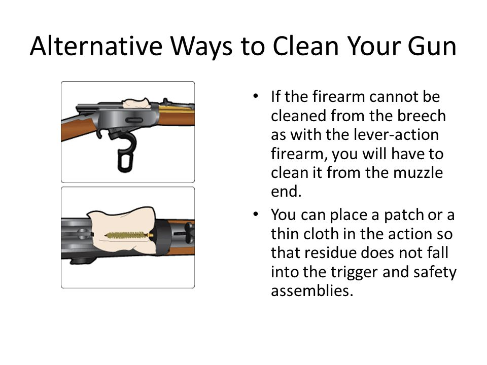 Alternative Ways to Clean Your Gun