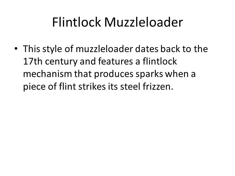 Flintlock Muzzleloader