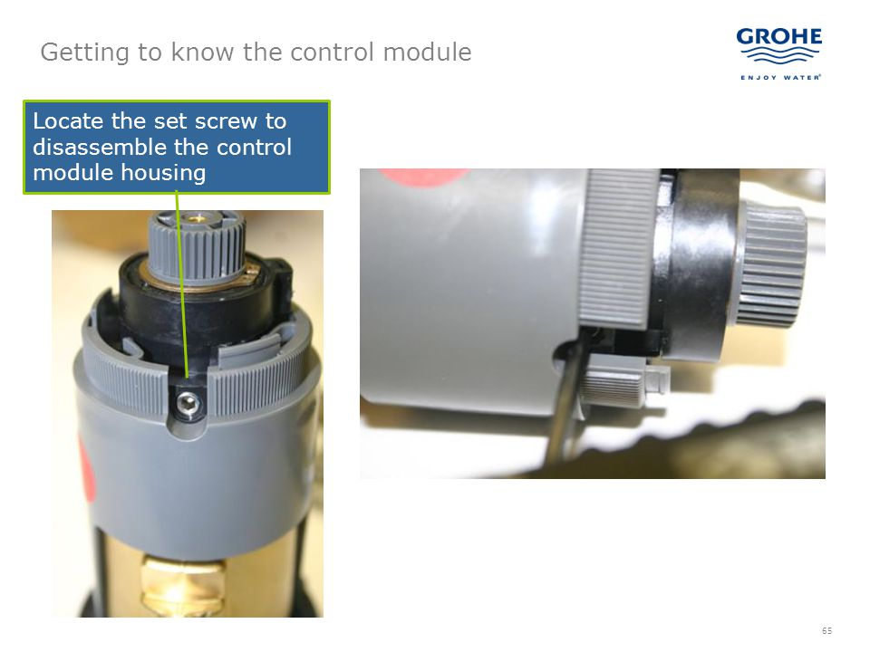 Getting to know the control module