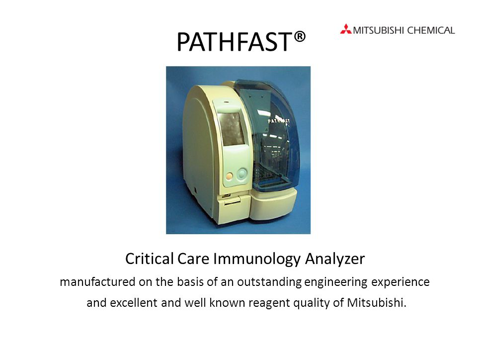 PATHFAST® Critical Care Immunology Analyzer