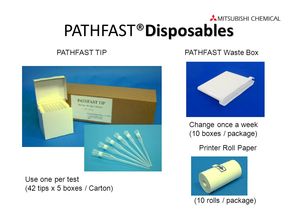 PATHFAST®Disposables