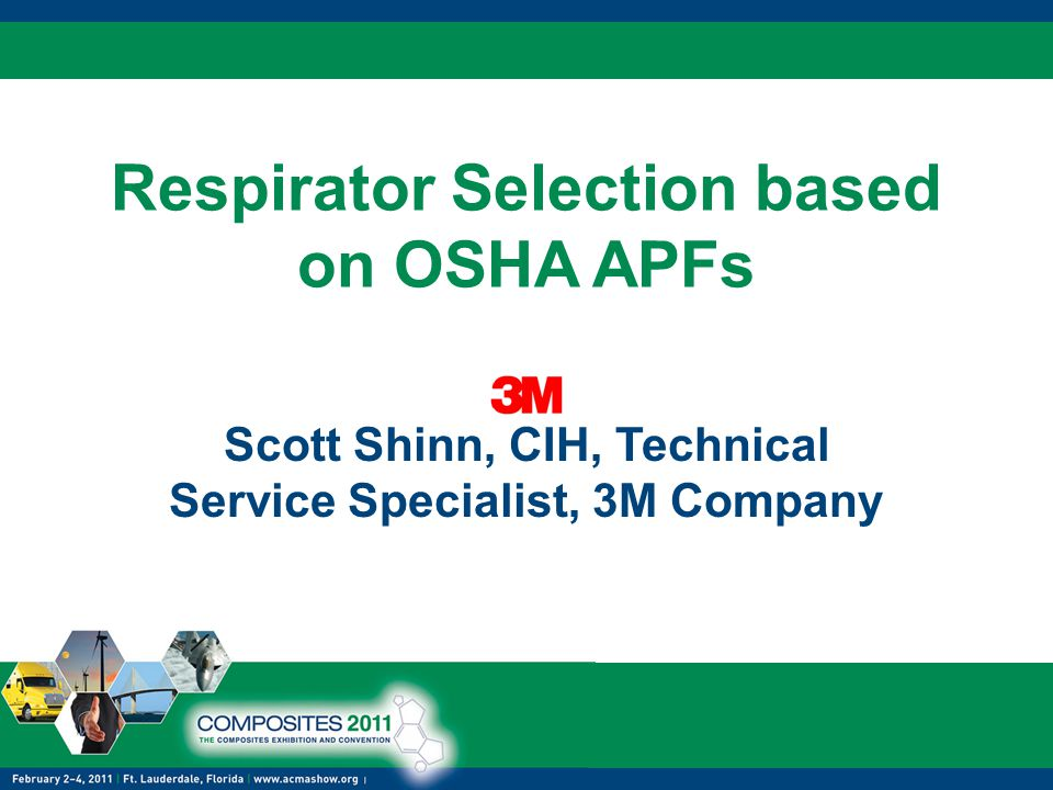 Respirator Selection based on OSHA APFs