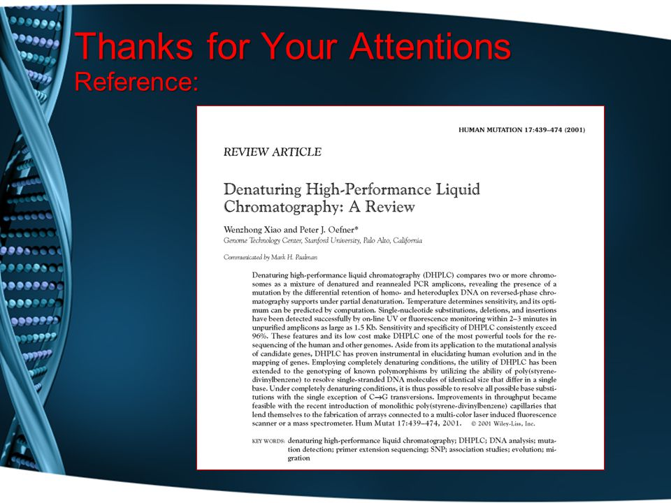 Thanks for Your Attentions Reference: