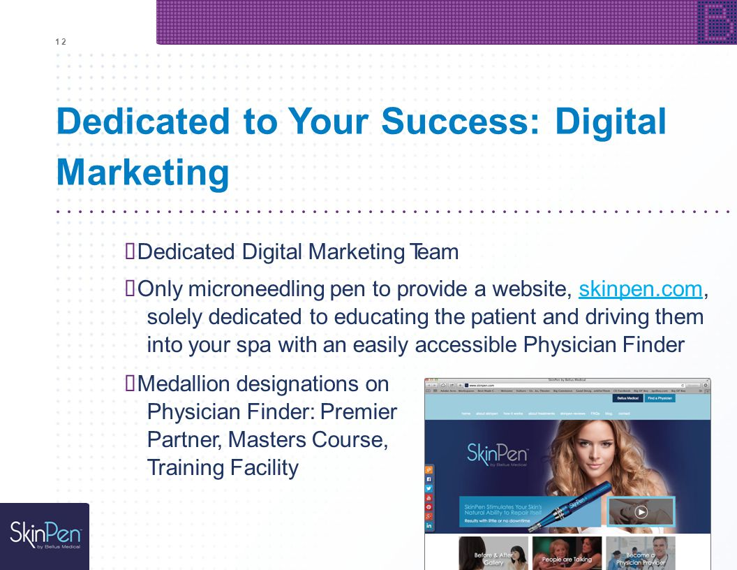 Dedicated to Your Success: Digital Marketing