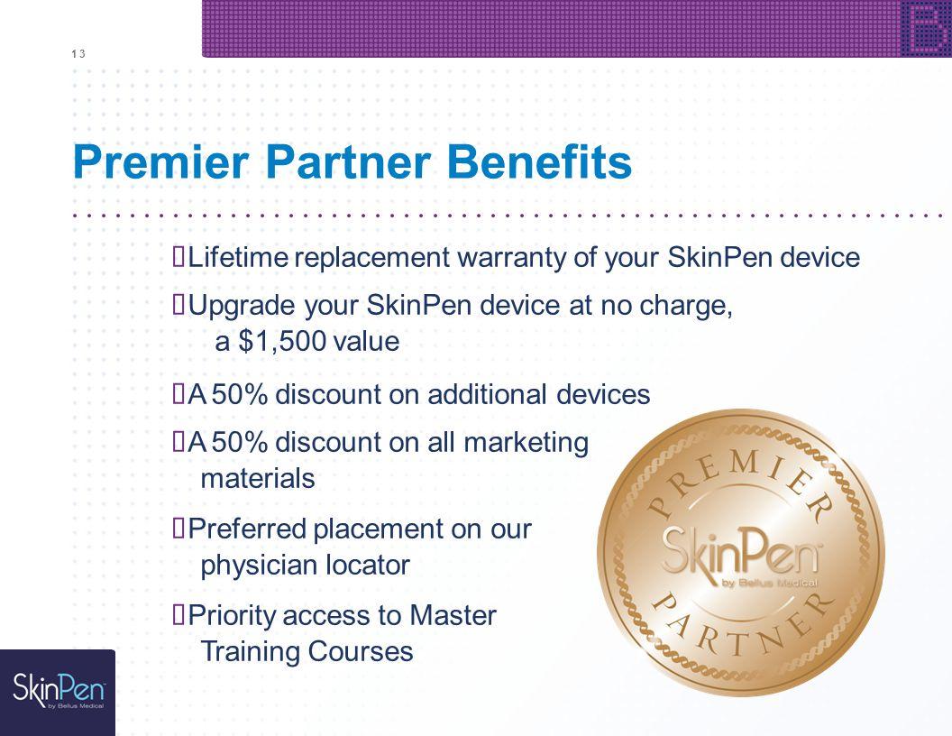 Premier Partner Benefits