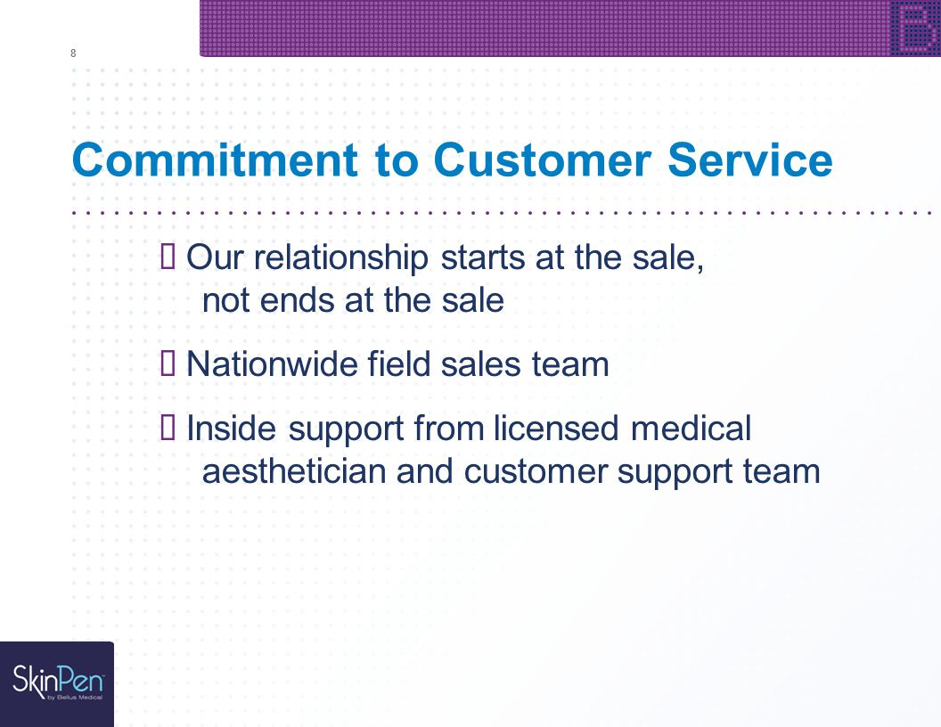 Commitment to Customer Service