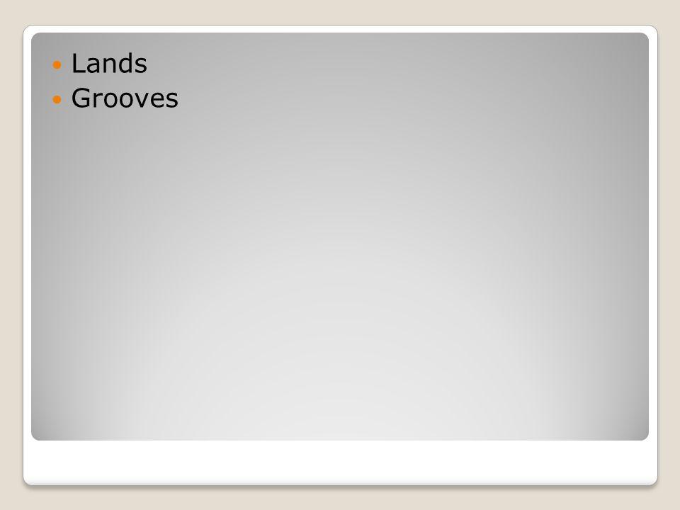 Lands Grooves