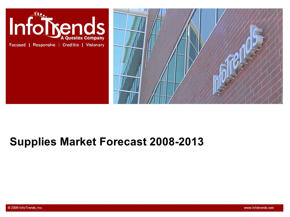 Supplies Market Forecast 2008-2013
